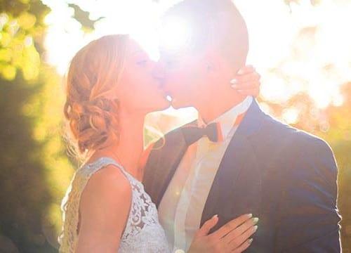 キスカップル結婚式
