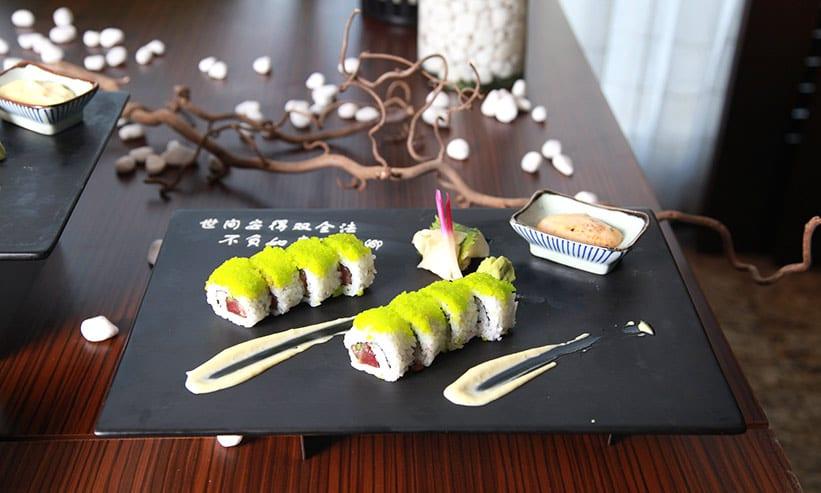 外国の日本食料理