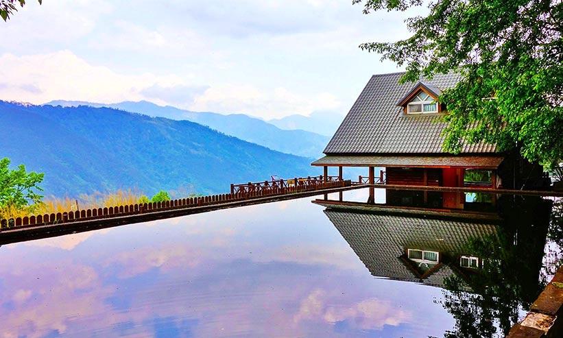 景色の良い温泉