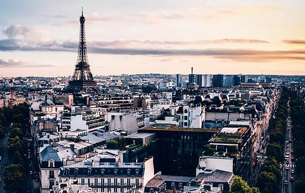 フランスパリ街並み