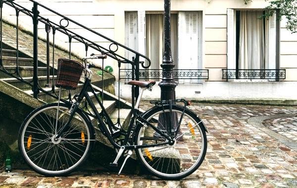 パリの小道