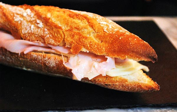 パン ハム チーズ