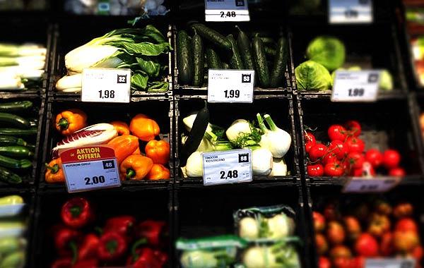 スーパーマーケット野菜