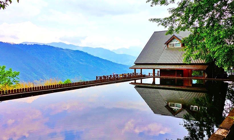 景色の良いところにある温泉