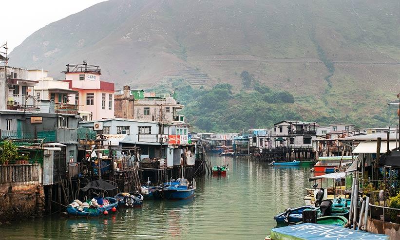 漁村・大澳(タイオー)
