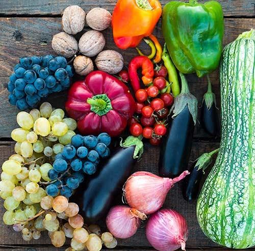 たくさんの野菜