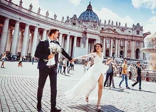 イタリア 結婚 カップル