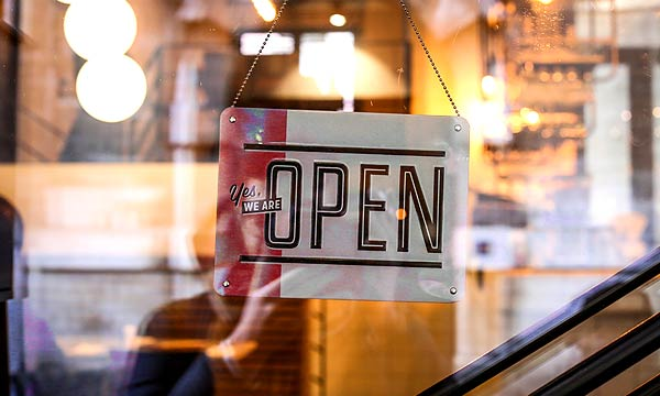 お店OPEN