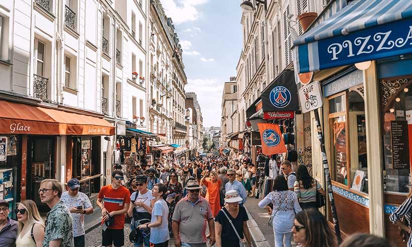 フランスの街並み