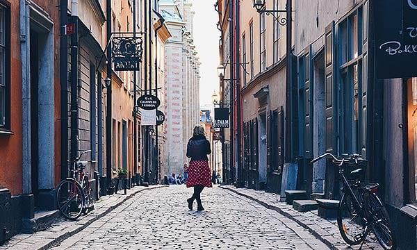 スウェーデン女性