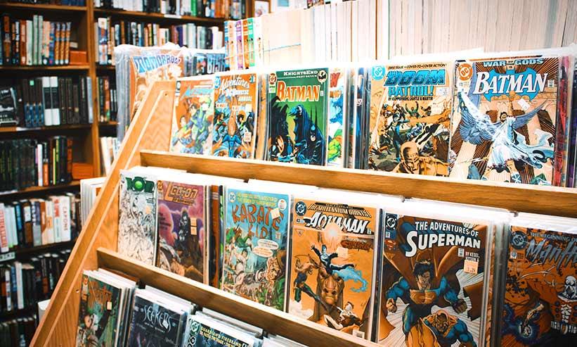 大量の漫画本