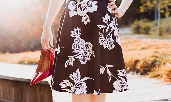 女性スカート