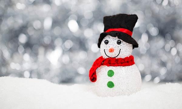 クリスマス雪だるま
