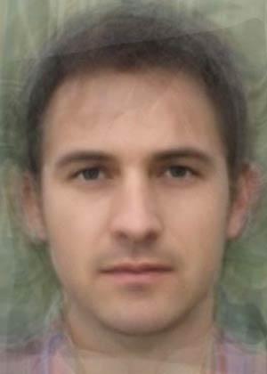 イギリス人平均顔