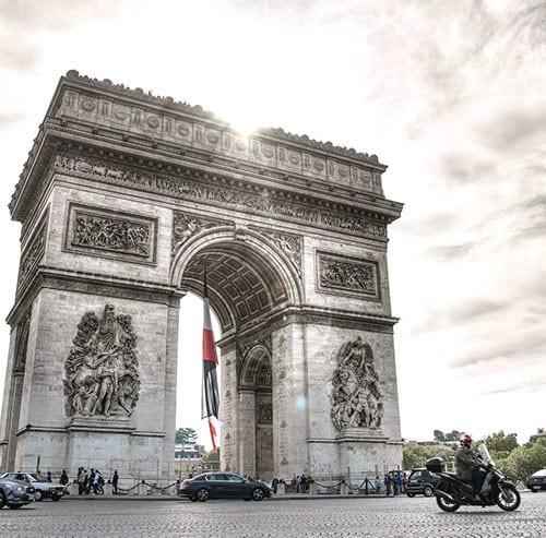 フランス凱旋門
