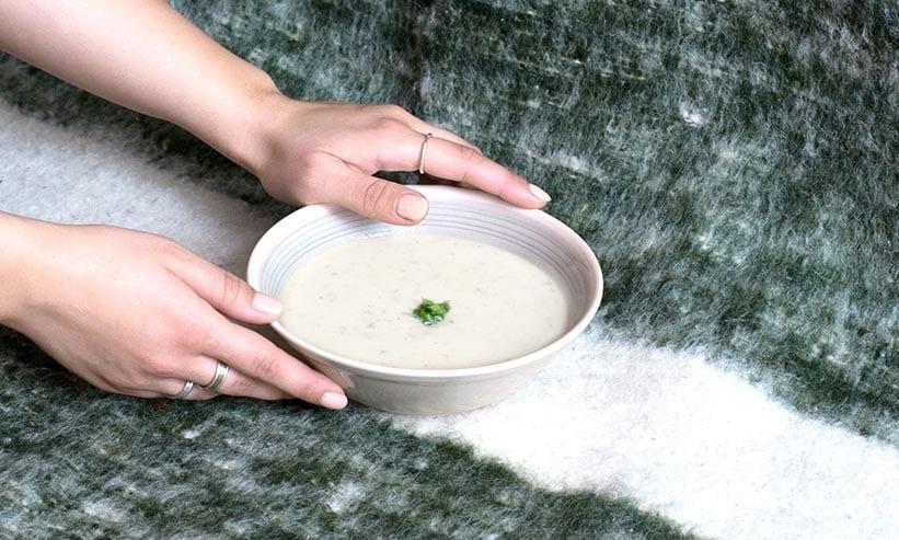 ヨーグルトのスープ